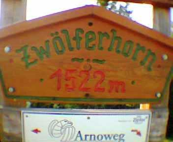 Panoramatour aufs Zwölferhorn