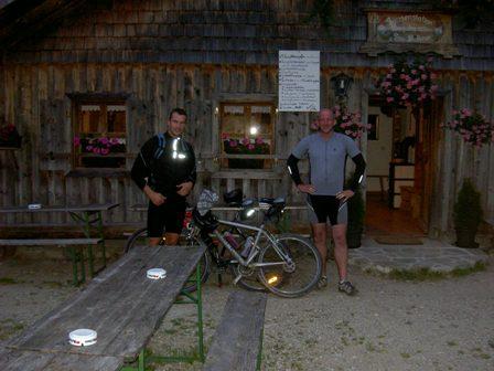 Mountainbiketour auf die Bergalm