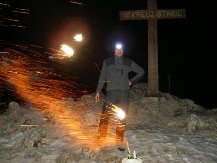 Silvester am Untersberg