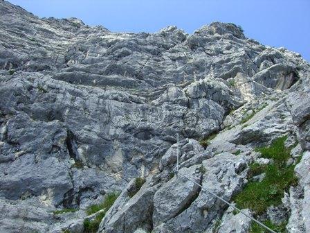 Hochtrohnsteig (C/D) mit spontaner Untersbergüberschreitung