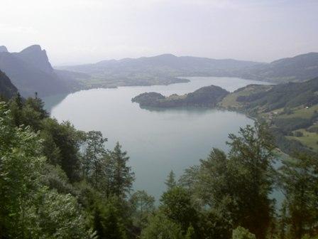 Rund um den Wolfgangsee über die Eisenauer Alm (750Hm)