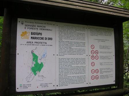 Biotopo Marocche di Dro (873Hm)