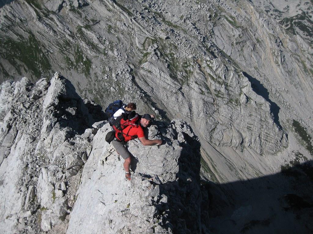 Klettersteig Priel : Überschreitung kleiner priel u2013 großer climb and hike