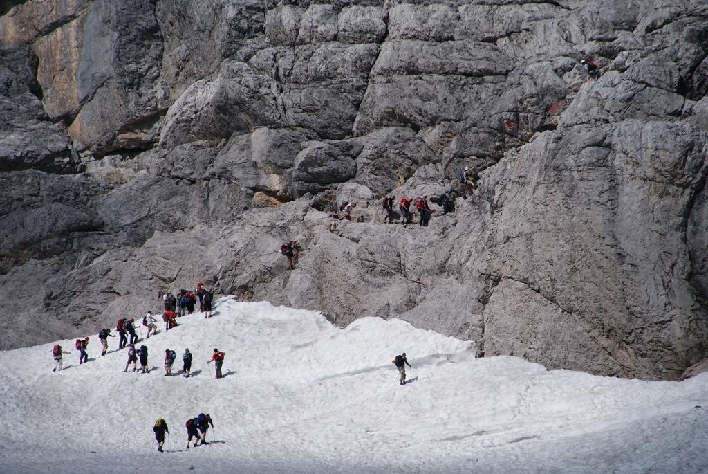 Klettersteigset Zugspitze : Zugspitze m climb and hike
