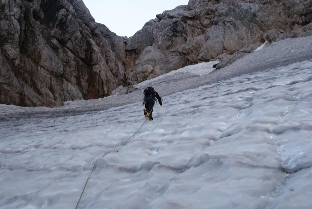 Hochkalter (2.607m) über Blaueisgletscher