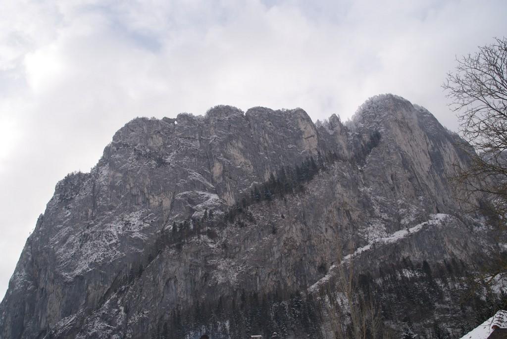 Klettersteig Drachenwand : Drachenwand klettersteig winterbegehung climb and hike
