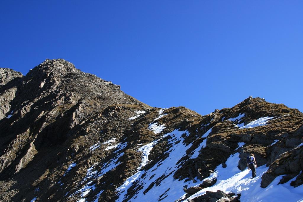 Gipfelgrat Ahornspitze