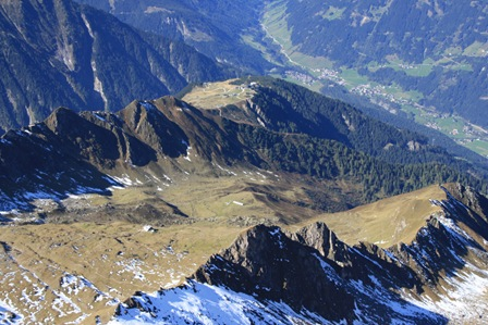 Abstieg Ahornspitze