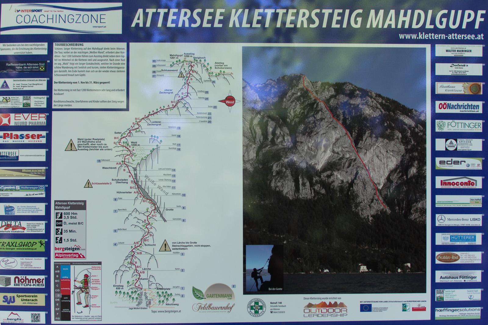Klettersteig Mahdlgupf : Klettersteig mahdlgupf attersee vinpearl baidai