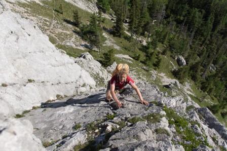 Mahdlgupf Klettersteig