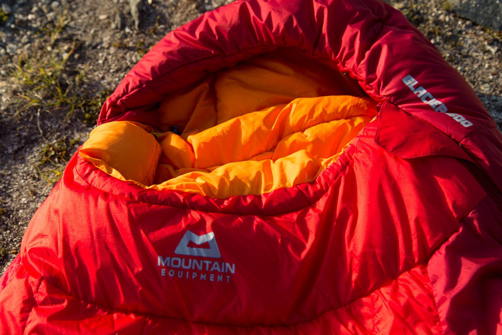 """Testbericht Schlafsack """"Mountain Equipment Glacier 500"""""""