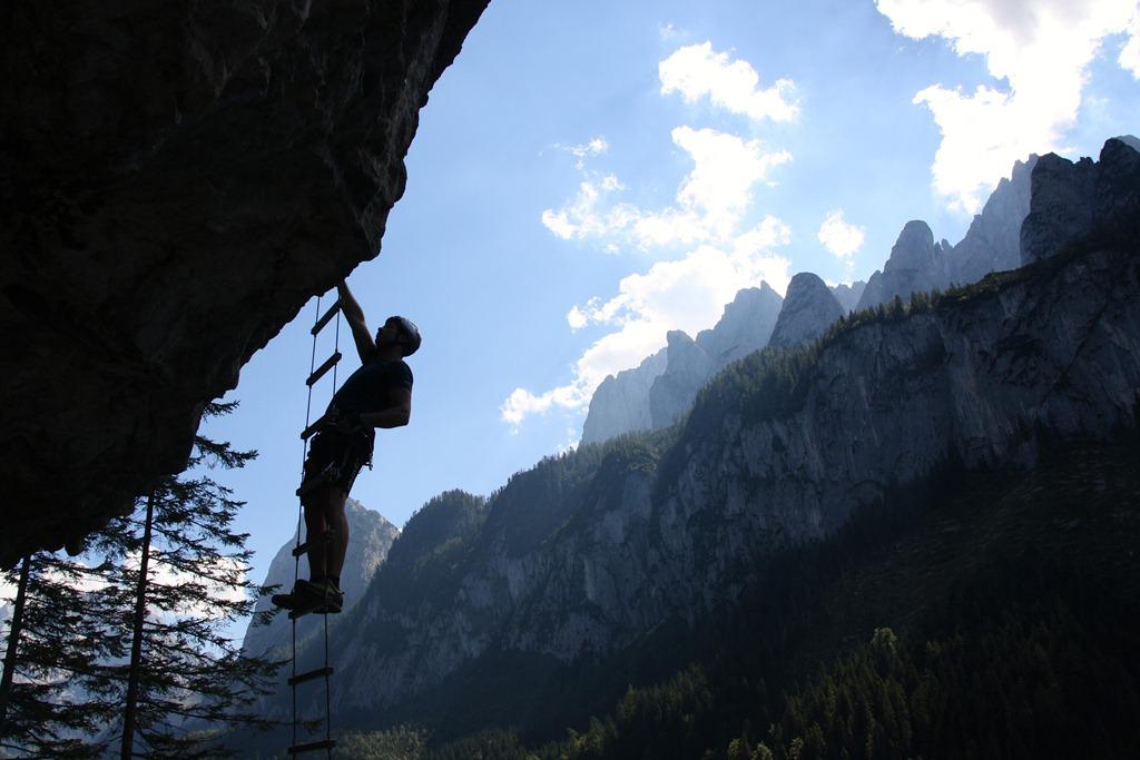 Laserer Alpin Klettersteig : Laserer alpin klettersteig b c climb and hike