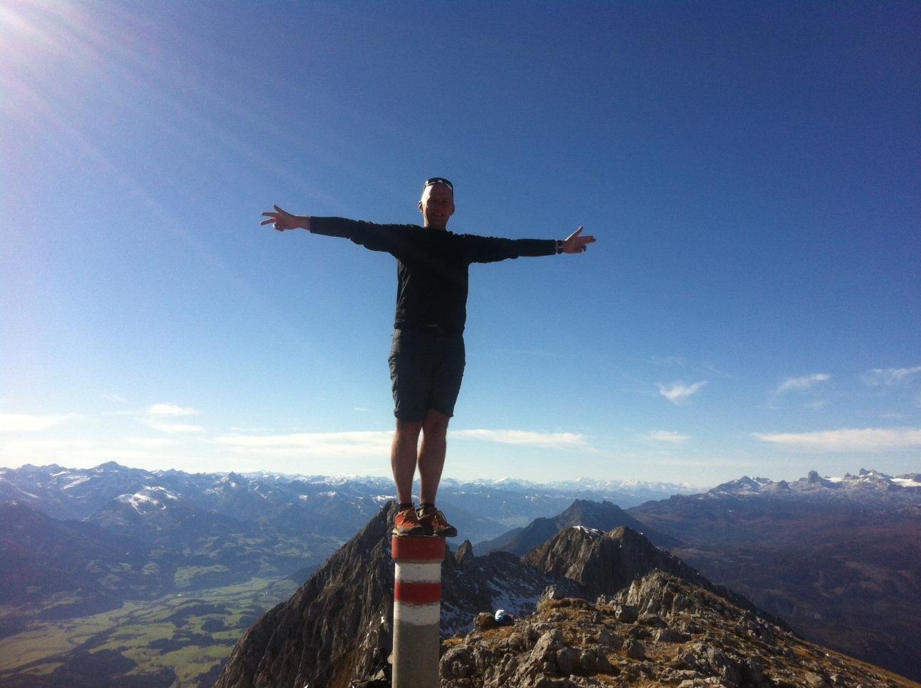 Grimming (2.351m) über SO Grat (II) und Multereck
