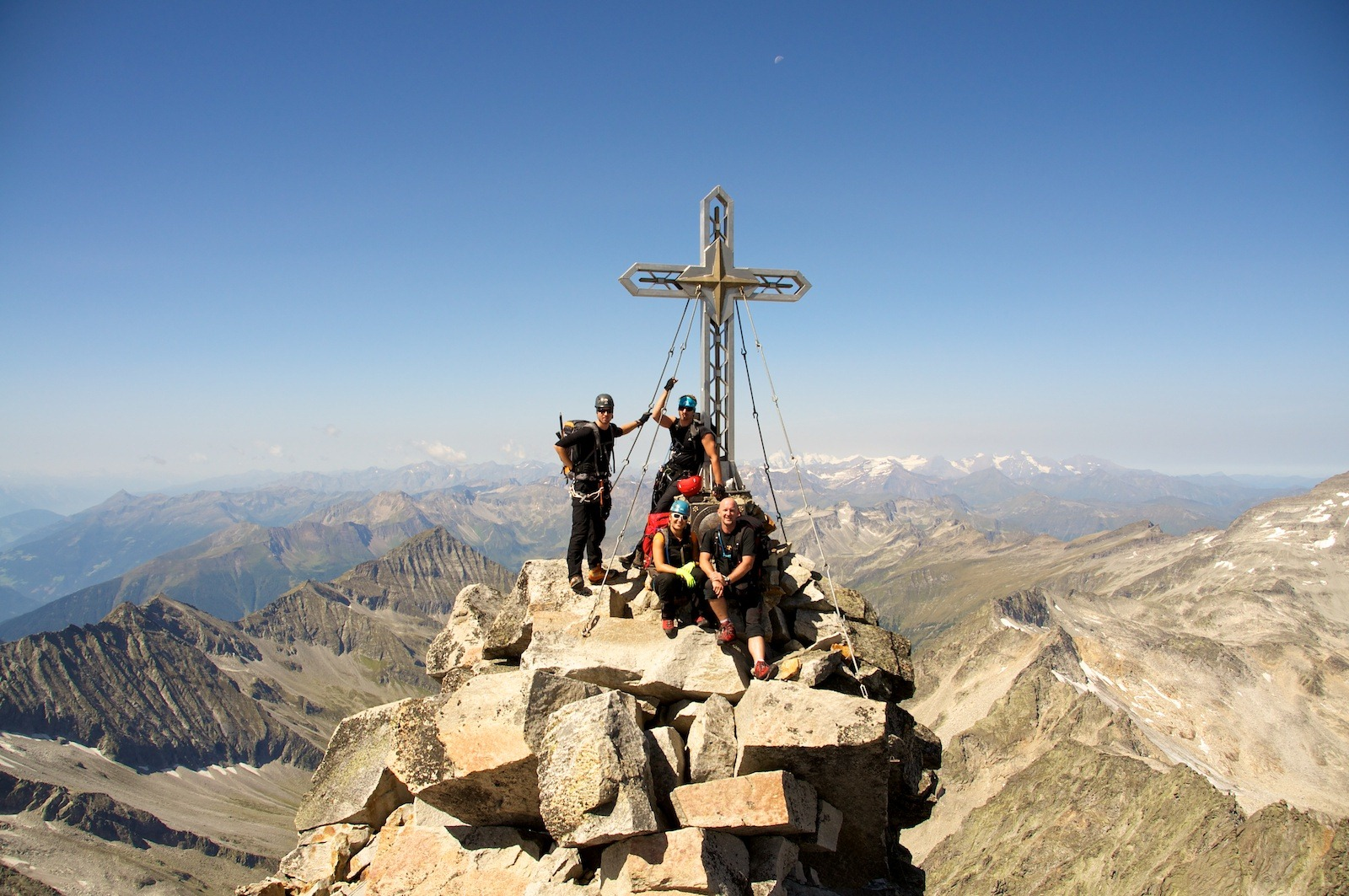 """Hochalmspitze """"Tauernkönigin"""" über Detmoldergrat (3.360m)"""