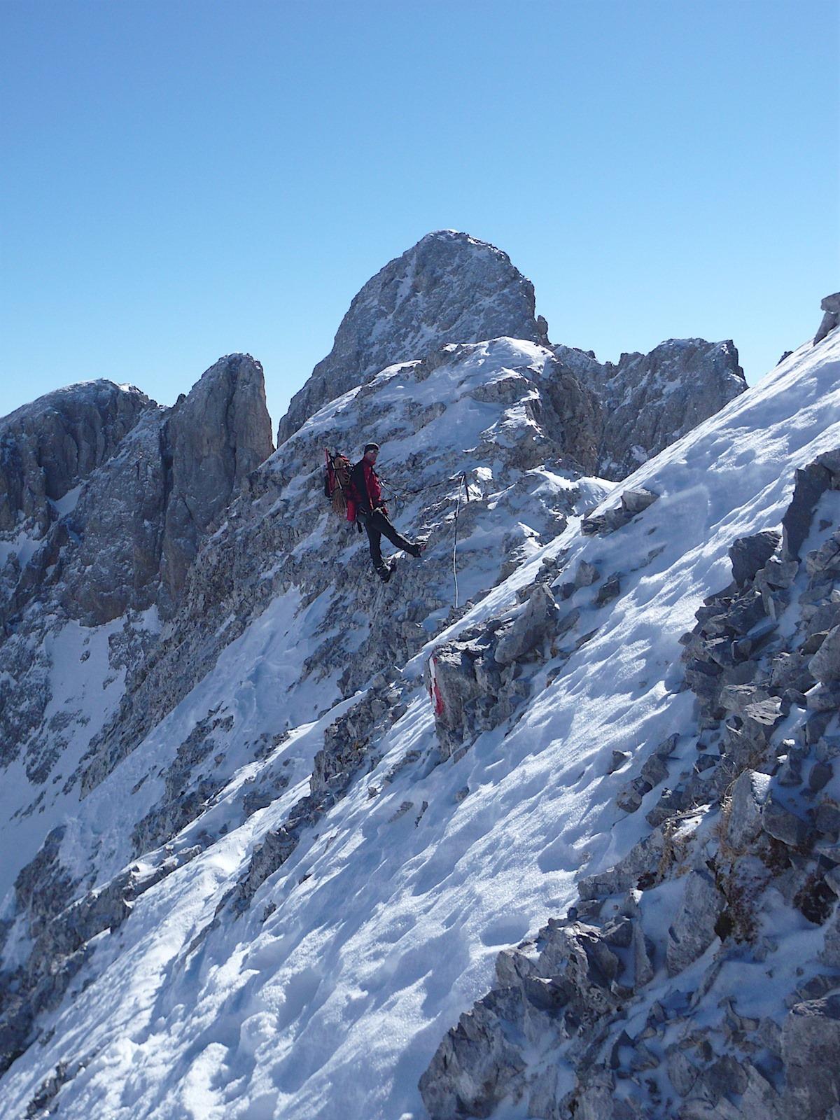 Ramsauer KS Winterbegehung 2011 - 50 (Speedy 6 von 23)