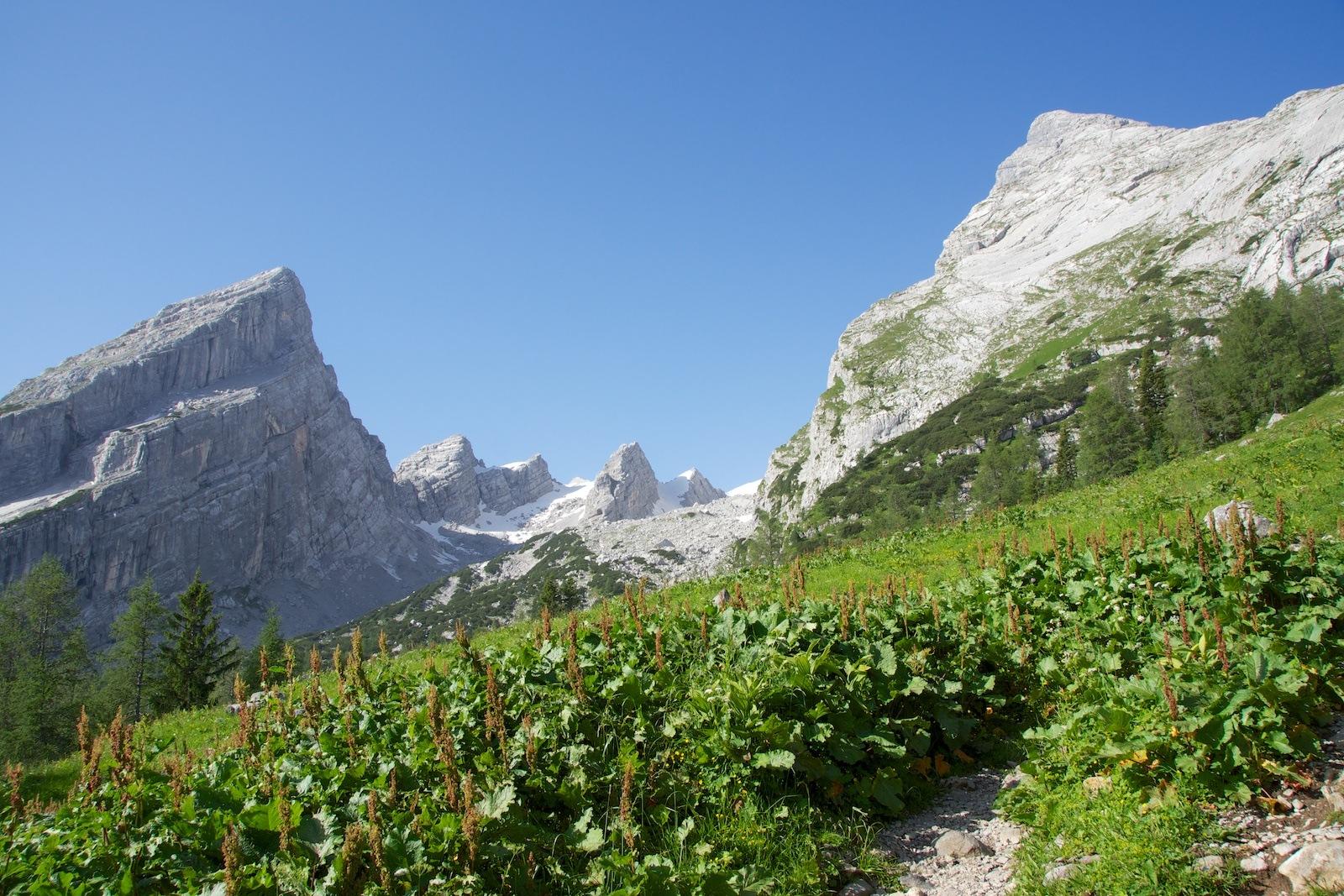 Klettersteigset Watzmann : Watzmannüberschreitung climb and hike