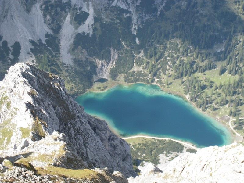 Seeben (D/E) und Tajakante-Klettersteig (D/E)