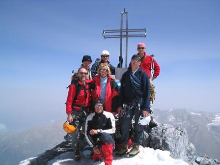 Ortler (3.905m) über Hintergrat
