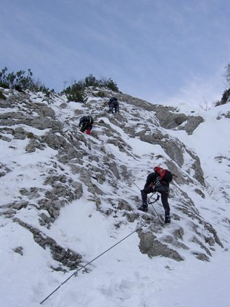 "Expedition ""Pidinger Klettersteig"""