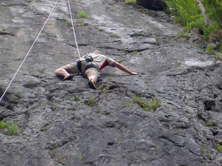 Erste Klettererfahrung