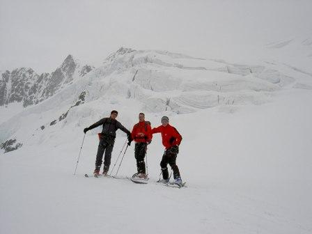 Wildspitze (3.770m), Versuch