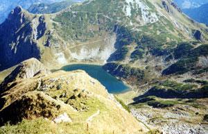 Henne (2.078m) und Wildseeloder (2.118m)