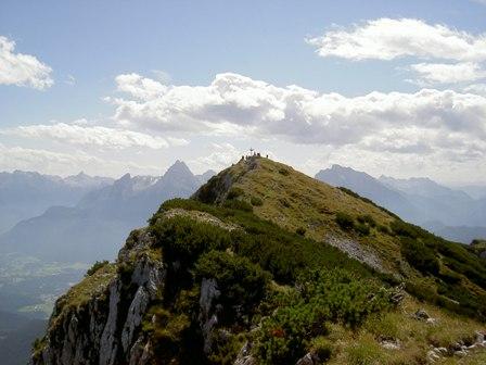Klettertour und Überschreitung des Untersbergmassives
