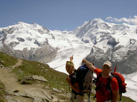 Dufourspitze (4.634m)