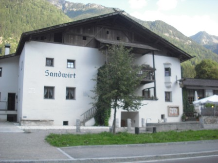 Andreas Hofer`s Geburtshaus