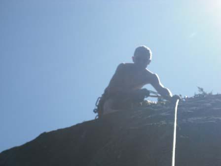 Klaus klettern