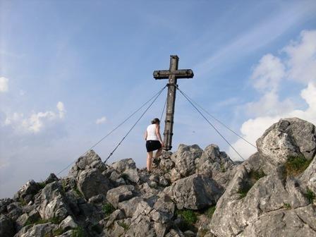 Gipfelaufstieg