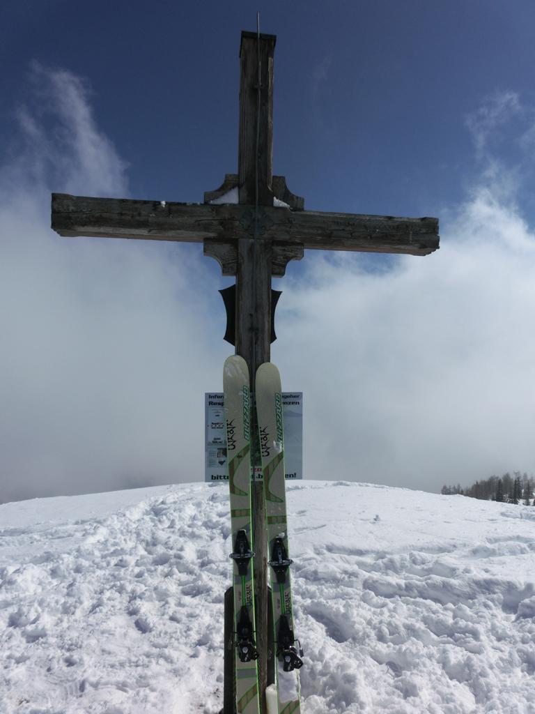 Gipfelkreuz Hahnbalzköpfl