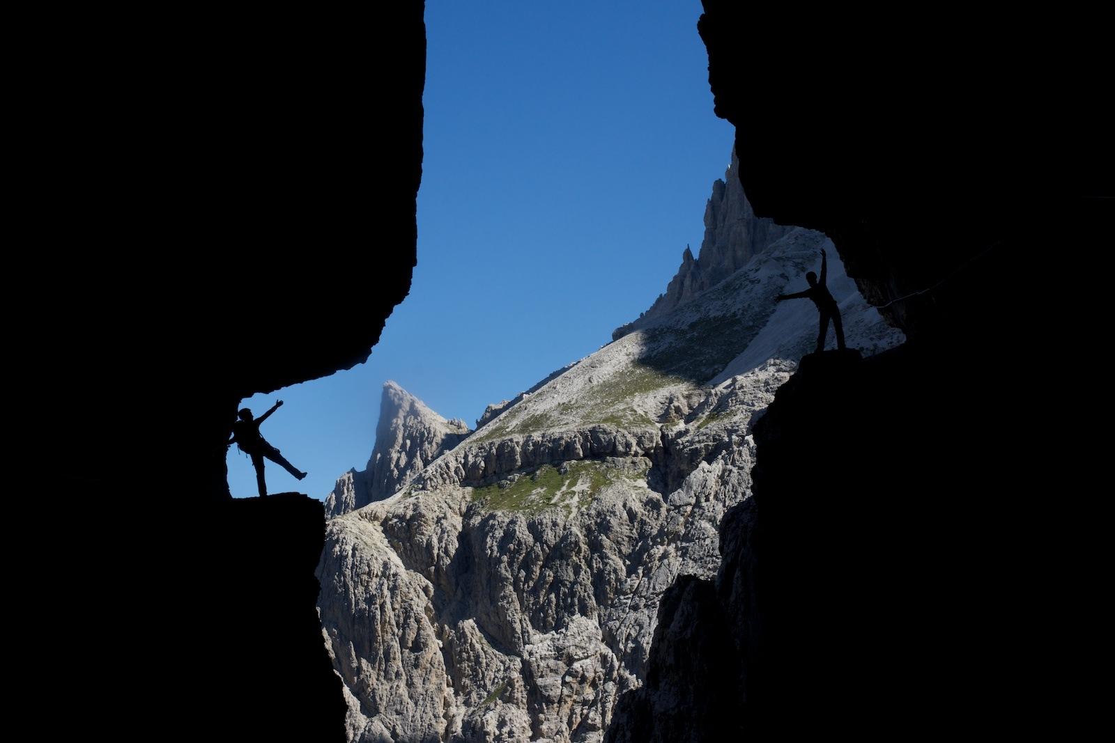 Alpinisteig über die Sentinellascharte (2.717m)