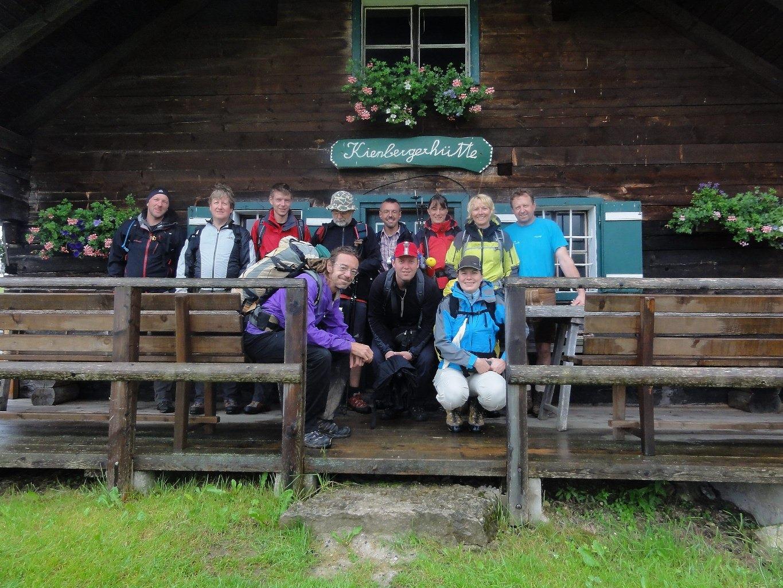 Gipfeltreffen am Schafberg