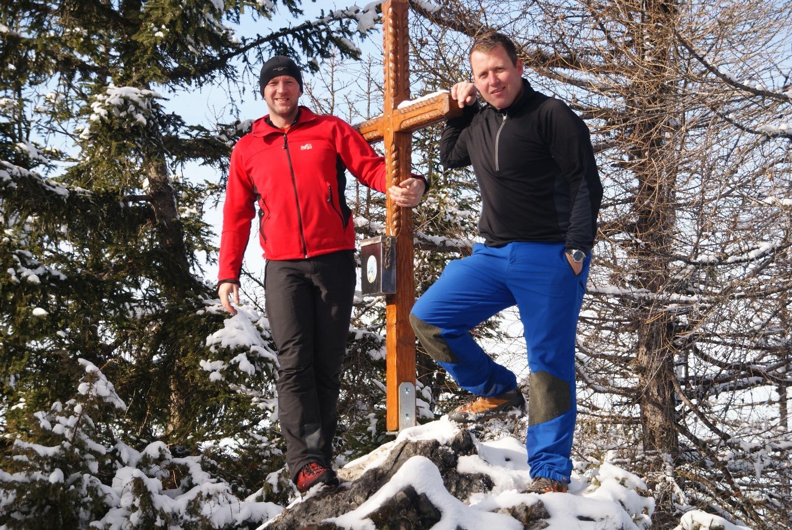 Tamberg (1.516m) und Spitzmäuerl
