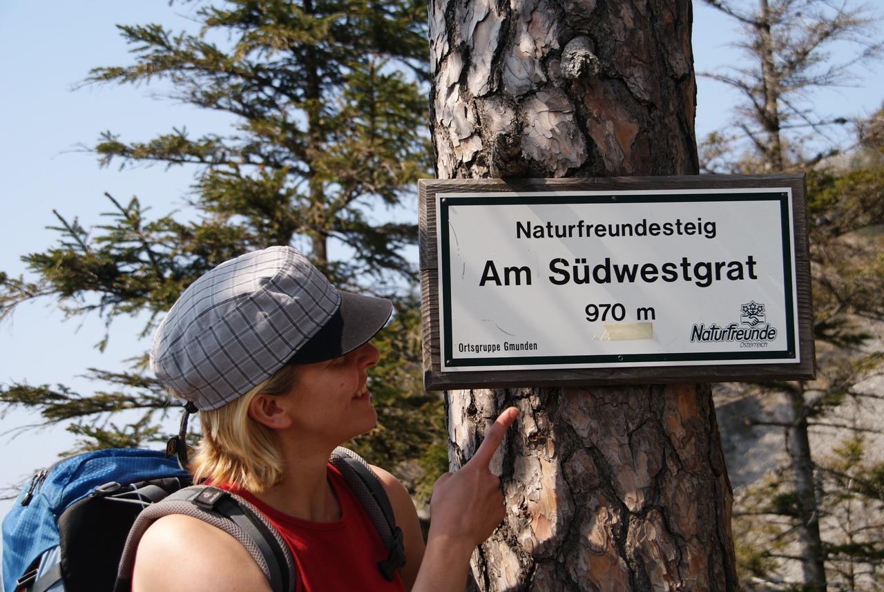 Traunstein SW-Grat (3+)