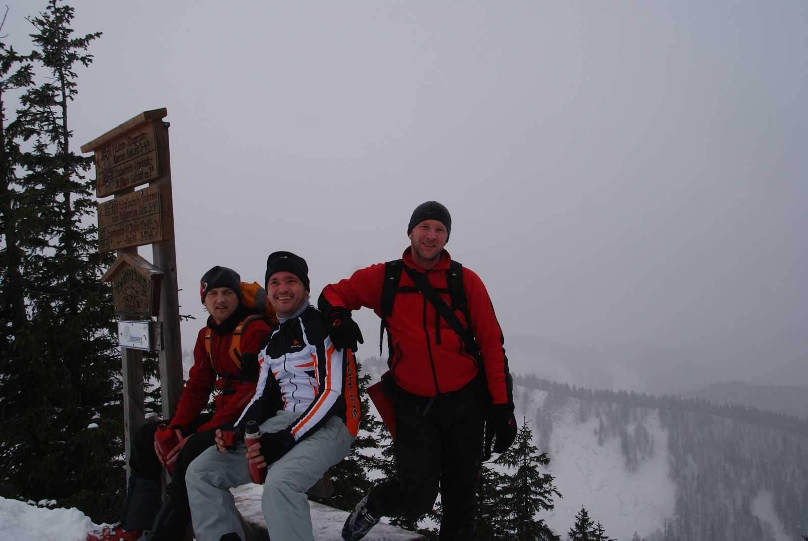 Zwölferhorn (1.521m) über Pilsteinhöhe